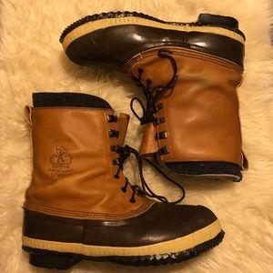 Sorel Tan Brown Tall Men's Duck Boot